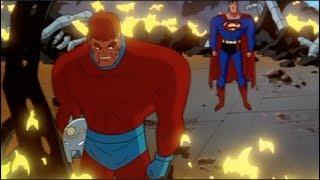 Superman & Orion vs Darkseid's Army