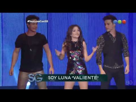 youtube video Elenco de Soy Luna — Valiente |  Susana Gimenez to 3GP conversion