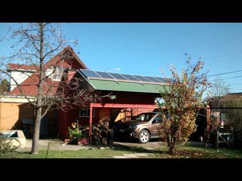 generación de energía eléctrica gratis - gracias al sol - en Talca, Chile