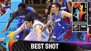 Argentina v Philippines - Best Shot - 2014 FIBA Basketball World Cup