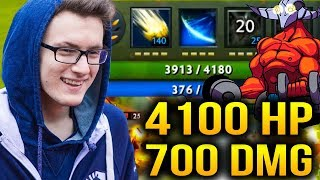 Miracle- Sven Is So Freaking Strong +4000hp Dota 2 7.07c