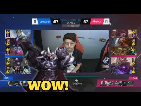 LZ (Khan Mordekaiser) VS AFS (Marin Renekton) Game 1 Highlights - 2017 LCK Summer W4D5