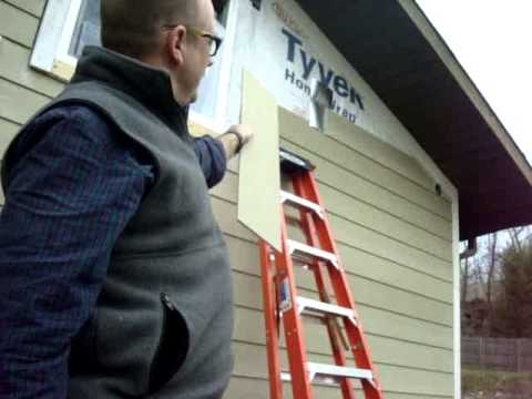 How To Flash Joints In James Hardie Siding Youtube