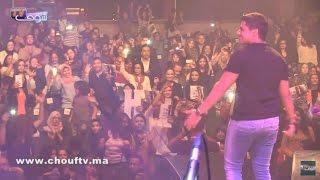 هاشنو وقع للمغني إيهاب أمير حتى هزوه للمستشفى مباشرة بعد أول حفل منفرد خاص به |
