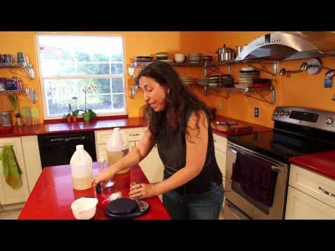 How to Make Lime Aloe Foam Soap Recipe