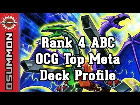 [Yu-Gi-Oh!] Rank 4 ABC OCG Top Meta Deck Profile
