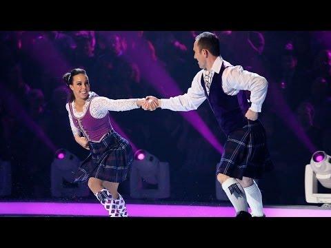 Beth Tweddle -  Dancing on Ice 2014 - week 4