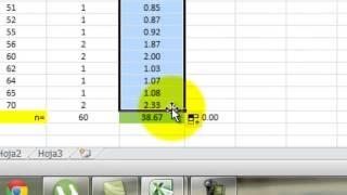 Calculo De Varianza Con Excel (Estadistica_2013-1)