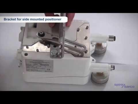 EP500 Electro-pneumatic Positioner Installation