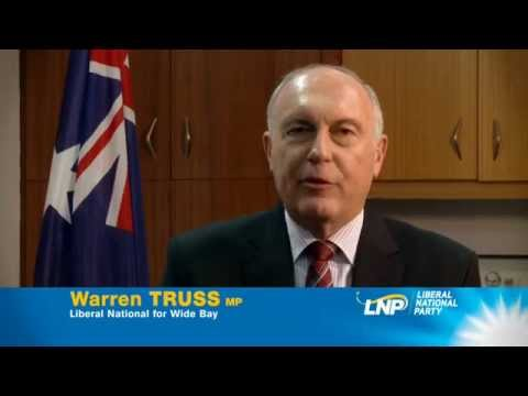 Warren Truss - Liberal National for Wide Bay