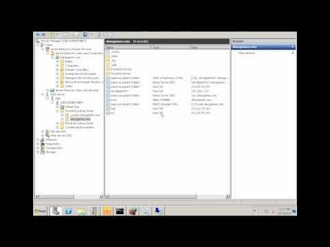 Exchange Server 2010 -Part 4 DNS & MX records