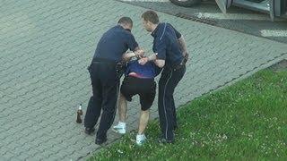 Der Polizei Trainer