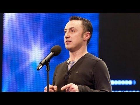 Organist Graham Blackledge La Bamba - Britain's Got Talent 2012 audition - UK version
