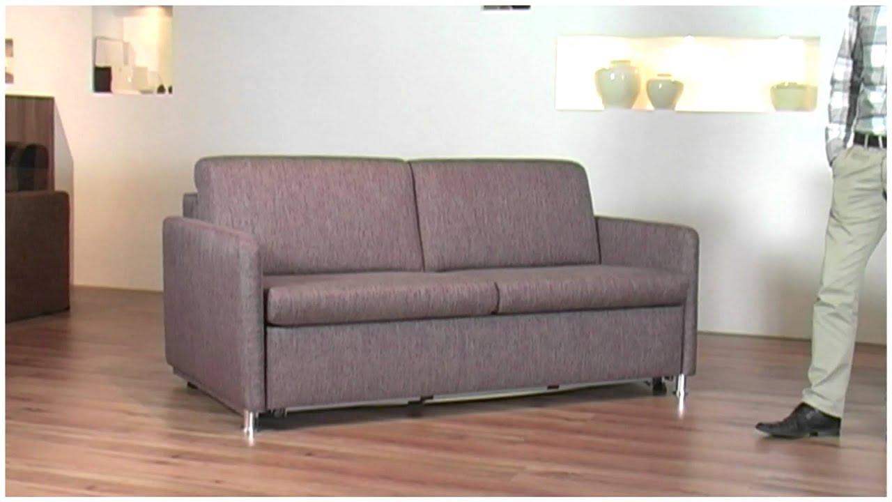 schlafsofa mit matratze youtube. Black Bedroom Furniture Sets. Home Design Ideas
