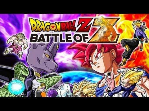 Découverte Dragon Ball Z battle Of Z en Live