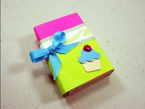 Como hacer una cajita para regalar con una caja de for Easy wealth out of waste