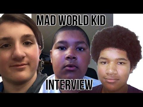 MAD WORLD KID INTERVIEW!! (JohnsEdge Gaming)