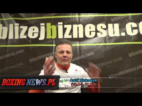 Artur Binkowski o Szpilka vs. Jennings, przyszłości Szpili oraz swoim powrocie cz.2/3 (11.2.14)