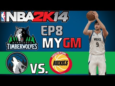 NBA 2K14: Minnesota Timberwolves PS4 MyGM - Stretch Run [Y2G68 EP8]