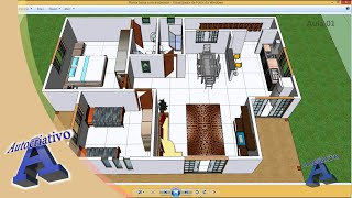 Curso De SketchUp Aula 01/20 Módulo Básico Autocriativo