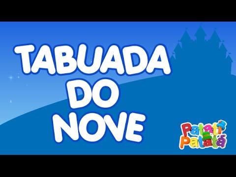 Tabuada do Nove - Patati Patatá (DVD No Castelo da Fantasia)