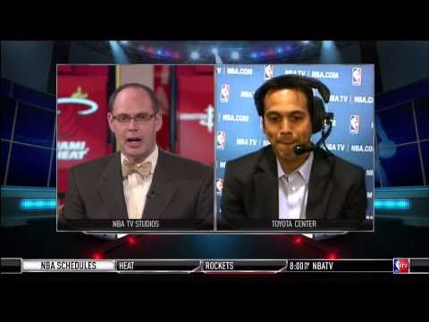 March 04, 2014 - NBATV - Erik Spoelstra Interview about LeBron James's 61 Pt Game (NBA Gametime)