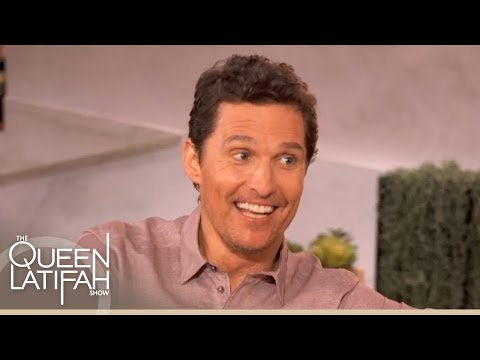 "Matthew McConaughey Chats About ""Dallas Buyers Clubs, ""True Detective"" and More on The Queen Latifah"