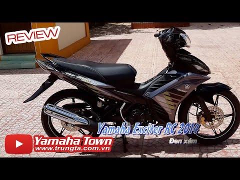 Yamaha Exciter RC 2014 - Review phiên bản màu Đen Xám ✔