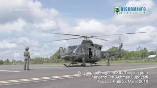 Kunjungan Pangdam XII / Tanjung Pura