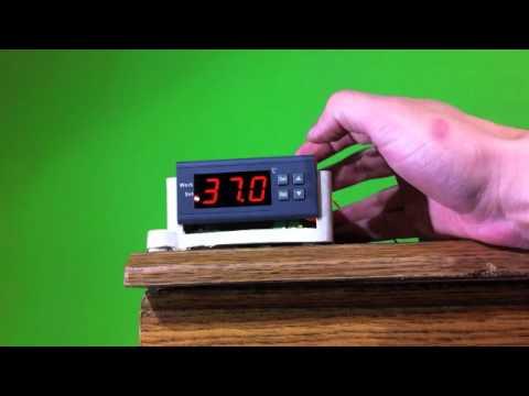 Controlador de temperatura de chuveiro