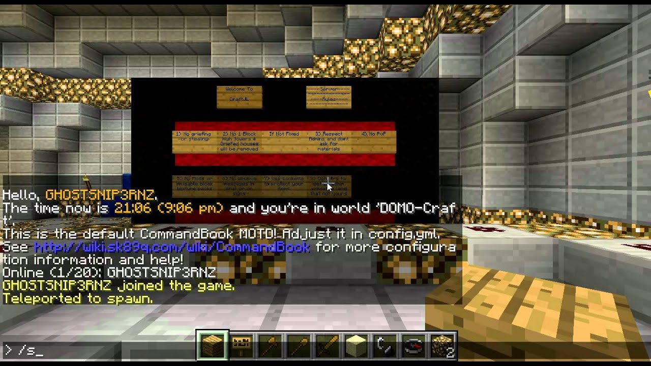 how to add spawn command in minecraft