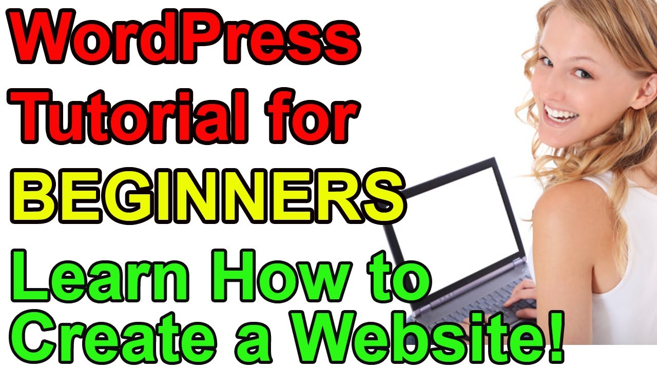 WordPress Tutorial for Beginners - Make a Website! - YouTube
