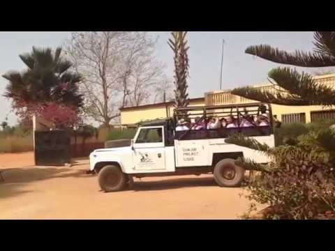 Girls Take Action In The Gambia 2014