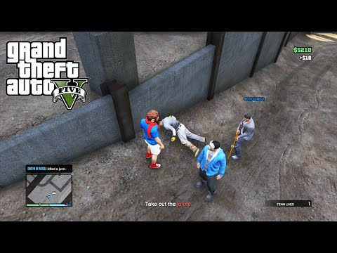 GTA 5 Online Mission: Judging The Jury - Worst Execution