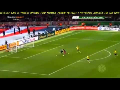 Borussia Dortmund vs  FC Bayern Munich 0 2 ~ All Goals & Full Highlights DFB Pokal   17 05 14 HD
