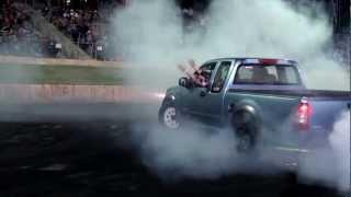 Burnout King - 2013 - V8 Holden Rodeo