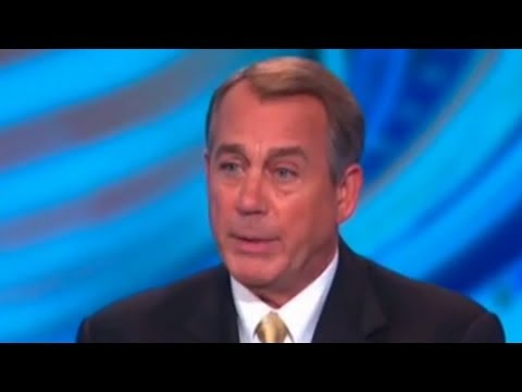 John Boehner's New Favorite Word: Conversation