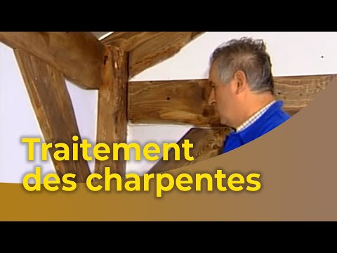 le traitement des charpentes youtube. Black Bedroom Furniture Sets. Home Design Ideas