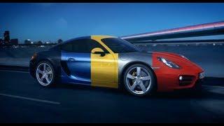 Porsche Cayman 2013 Car Configurator Commercial Interactive Carjam TV HD Car TV Show