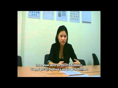 Interview with an IELTS Student