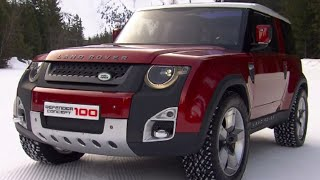 New Land Rover Defender 100 Concept INTERIOR NAS 90 110
