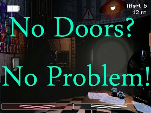 No Doors? No Problem!-Five Nights At Freddy's 2: The Sequel Why There Are No Doors!
