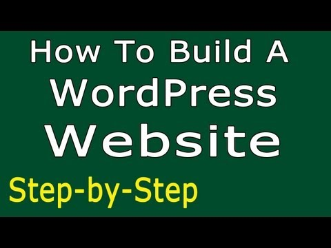 How To Build A WordPress Website - SIMPLE Step-by-Step | Make a Website - YouTube