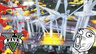 GTA V Online LA CARRETERA DE LA MUERTE Muchos Fails XD