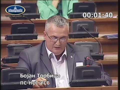 Бојан Торбица ДОС-овци специјалисти за гласање на даљину 06.06.2018.