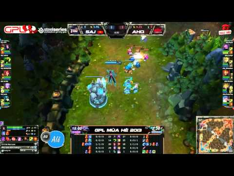 [GPL 2013 Mùa Hè] [Tuần 8] Saigon Jokers vs AHQ eSports club [07.07.2013]