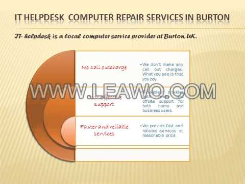 Computer Repair Services in Burton at Best Prices
