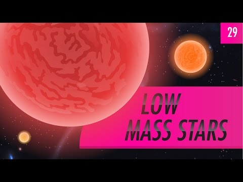 Low Mass Stars: Crash Course Astronomy #29