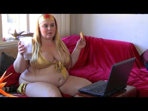 《英國增肥女》目標吃成性感胖美女?!
