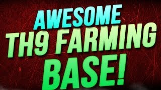Clash Of Clans :: TH9 Farming Base Maze Baze